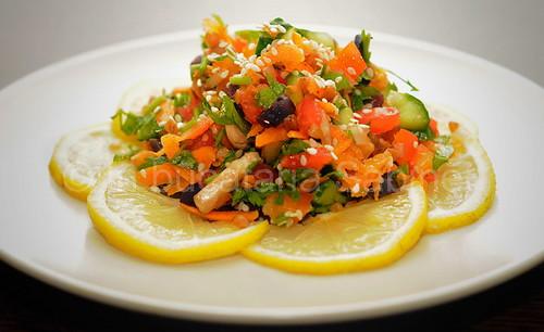 Salata cu hrisca si susan