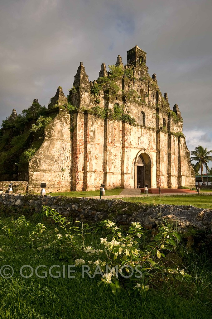 Ilocos Norte - Paoay Church Bathed by the Sunset Light