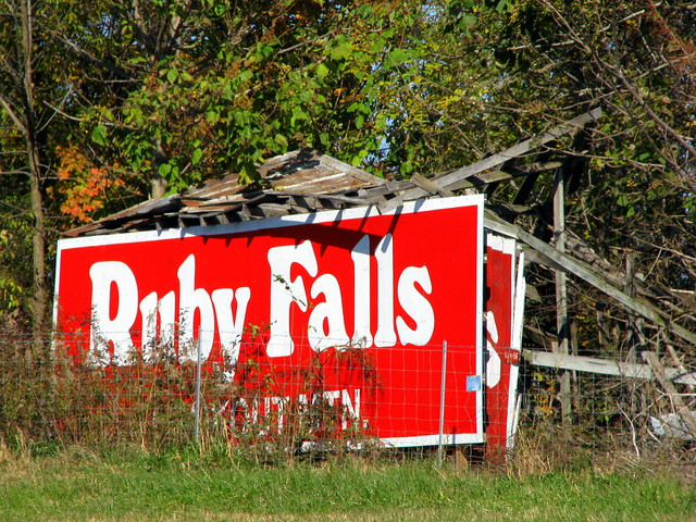 The Remains of a Ruby Falls Barn