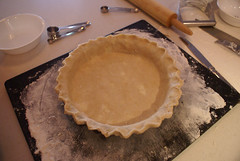 1st ever homemade pie crust :-)