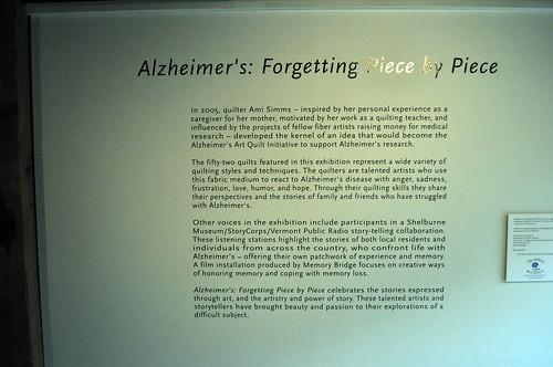 alzheimer quilt story