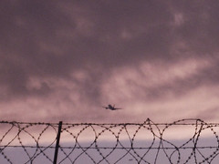 (Alkisti Christ.) Tags: voyage sky clouds airplane leaving airport wire cloudy overcast stormy september departure takeoff upwards ascend pointofnoreturn gettingoff leavingonajetplane
