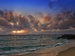 EL MAR EN INVIERNO (V) (Pedro M.) Tags: sea sky espaa beach clouds sunrise mar andaluca spain espanha mediterranean mediterraneo wave playa olympus arena amanecer cielo nubes cadiz invierno andalusia cdiz espagne ola linea spanien mediterrneo horizonte beachwalking orilla lalinea  levante e510 lnea andalusiaspain lalnea campodegibraltar atunara  lalneadelaconcepcin  andalucaespaa olympuse510 laatunara linense   paseandoporlaplaya playadesantabrbara