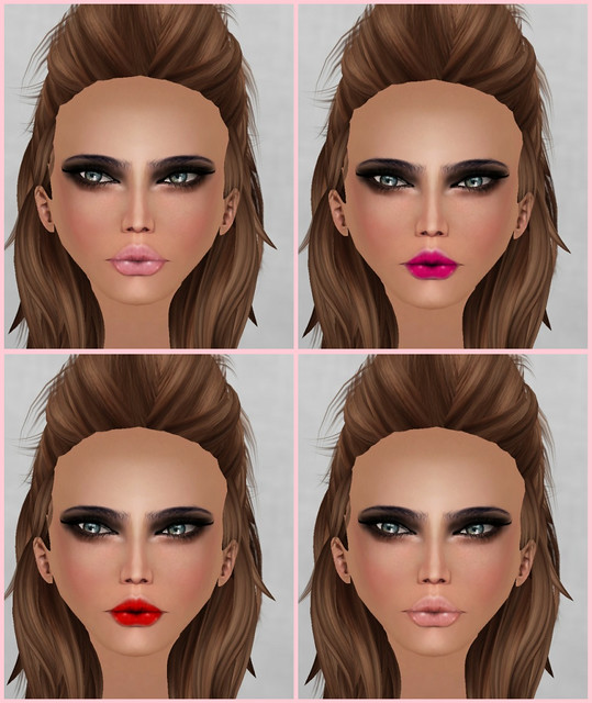 -MonS- Ales Skin Black Make Up Series