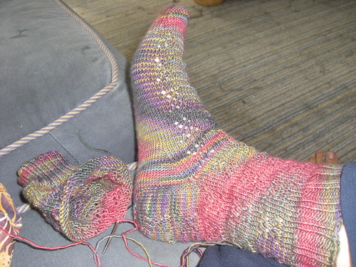 One-point-five socks done