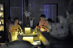 Quiet corner (Roving I) Tags: food wine tea events beijing catering cibtm
