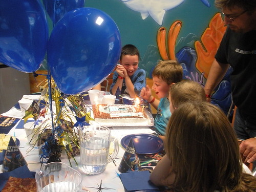 lucca's 8th bday