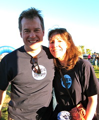 Randy and Kim, Water = Hope volunteers and supporters!