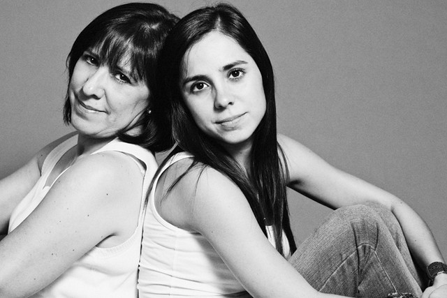 Meli and Mom