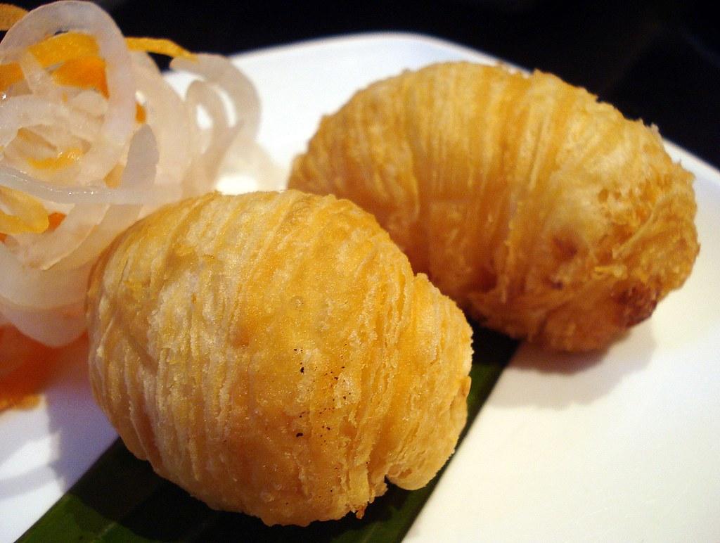 Crispy turnip puff (?????) at Shanghai Blues, ...