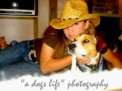 """she's my life"" (Willow Creek Photography) Tags: friends dog mutt harley guardianangel cowgirl mylife harleyrey"