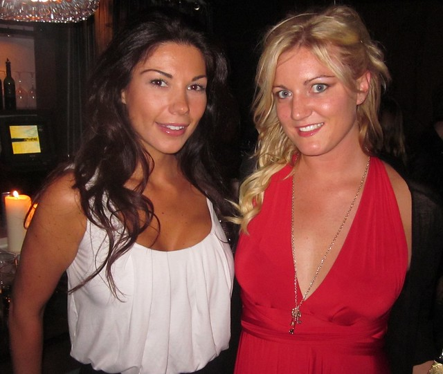 Anissa Marie Holmes, Rachel Bowman, RealTVfilms Social Media Lounge Wrap Party, Toronto Film Festival