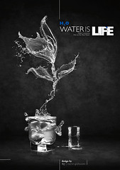 water is life // waterflower (grohsARTig // martin-grohs.com) Tags: life bw flower water photoshop manipulated creativity typography layout design blackwhite interesting experimental mixedmedia creative surreal manipulation waterflower kreativitt waterislife grohsartg martingrohs grohsartig