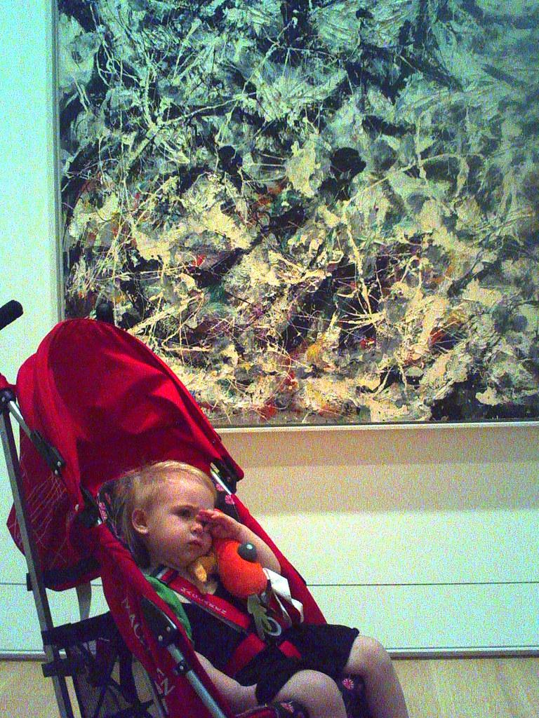 Eleanor at the Art Institute