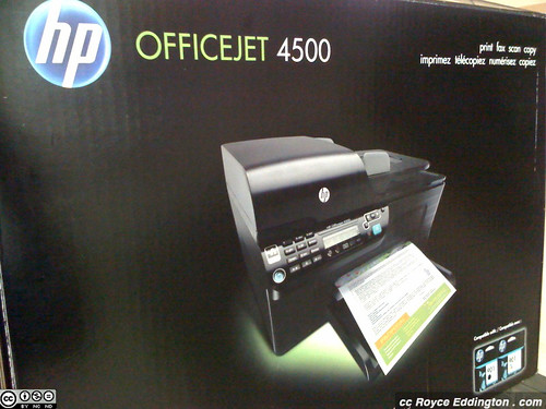 HP Officejet 4500 01 photo