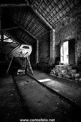 _CF_3443-web (Carlos Flix) Tags: old bw port dark boat mar felix indoor carlos bn flix viejo menorca mahn ma illa carlosfelix