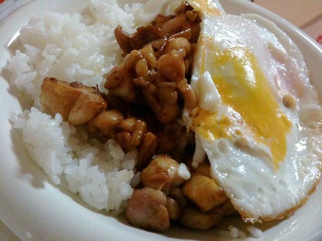 #jisui 鶏ガパオ!美味い!