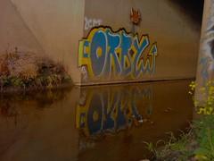 (Pastor Jim Jones) Tags: water graffiti tunnel btk lcm orby