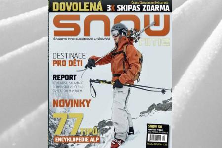 SNOW 50 TIME – cestovatelský speciál + 3X skipas zdarma