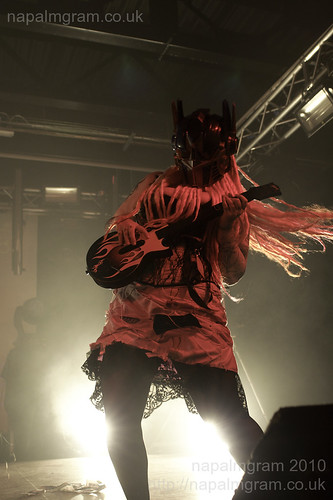 mandro1d performing at Infest 2010