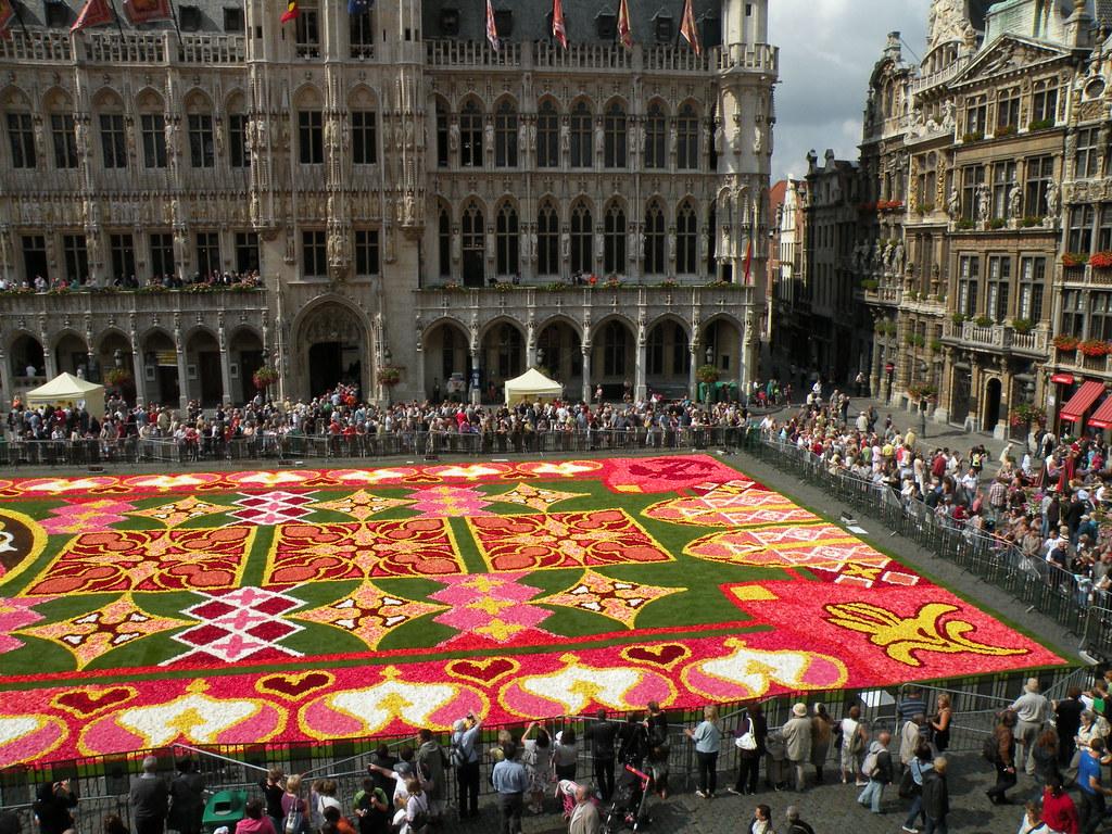 Tapis de Fleurs - Grand Place, Bruxelles