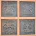 Disney Legend Handprints: Bill Justice, Betty Lou Gerson, Bob Moore and Bill Peet
