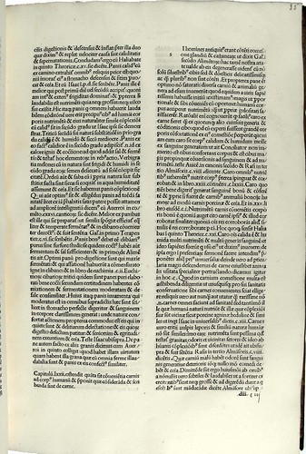 Page of text from 'Corona florida medicinae, sive De conservatione sanitatis'. Sp Coll Hunterian Bg.3.16.