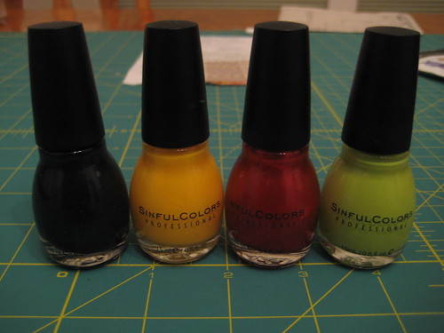 Sinful Colors Mini Haul 9-15-10
