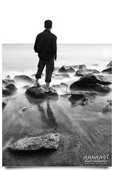 Happy Friday! (AnNamir c[_]) Tags: longexposure people bw selfportrait seascape reflection beach photoshop sunrise canon landscape eos tripod kitlens malaysia 7d slowshutter pantai kotabharu f9 30seconds kelantan diyfilter pantaisabak luarbiasa annamir buyie puteracom sahabatsejati getokubicom muktasyaf digitalmukmin mygearandme ngkuli mygearandmepremium mygearandmebronze mygearandmesilver mygearandmegold klno mygearandmeplatinum mygearandmediamond