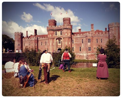 Herstmonceux Medieval Festival ~ castle