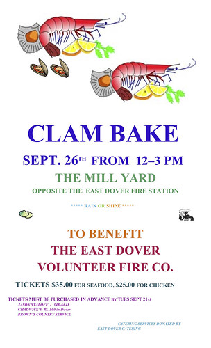East_Dover_VT_Clam_Bake_Poster_2010c