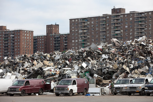 Metal Recycling, Cooperative Housing, Bronx