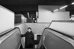 (49) (Donato Buccella / sibemolle) Tags: street blackandwhite bw italy woman milan underground milano streetphotography metropolitana anziani cordusio artlibre canon400d artlibres sibemolle