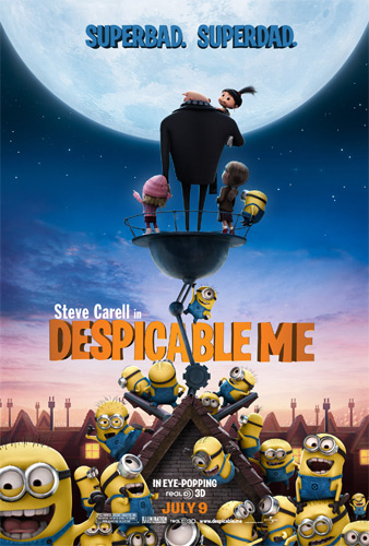 Despicable Me Poster Review in 3D - Movie Reviews - PinayReviewer.com