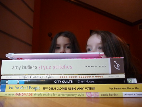 Birthday Books and nosy children