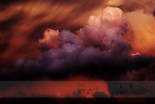 Spooky Oklahoma Clouds
