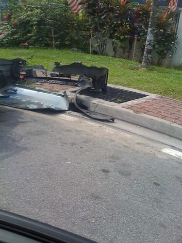 Honda Integra DC5 kemalangan maut