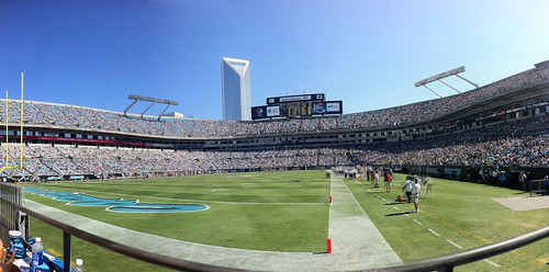 Bank Of America Stadium  Panor