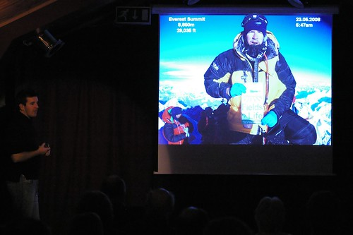 Ian Taylor talks about his journey to the summit of Everest.