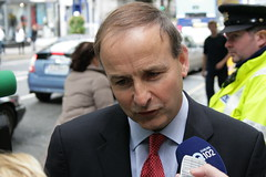 Minister Micheál Martin arriving at the Royal ...