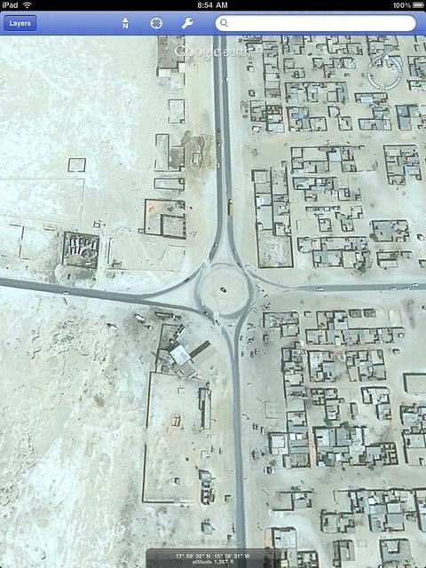 Mauritania roundabout