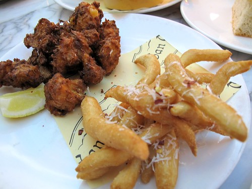 Cauliflower and Gnoccho Fritti at Otto