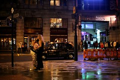 K11_5962 (bandashing) Tags: pink england wet hat rain bar night manchester fight wind drink pavement taxi crowd windy alcohol violence clubs nightlife cowgirl cry disorder console sylhet bangladesh printworks etihad bandashing