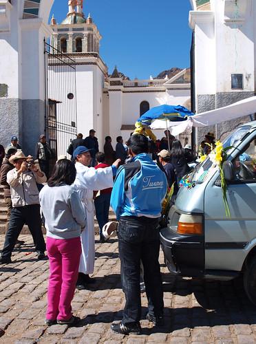 Copacabana - Bendición de Movilidades (3)