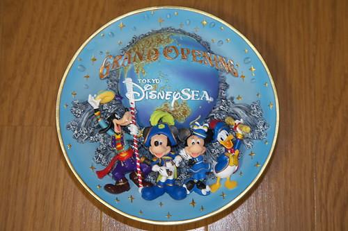 ディズニーシーグランドオープン絵皿