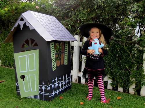 the witch and her house