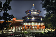Temple of Heaven (Uncle_Greg) Tags: orlando epcot nikon florida disney disneyworld wdw waltdisneyworld templeofheaven hdr themepark chinapavilion d90 unclegreg tamron1750 disneyphotos disneyphotography gregstevenson