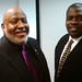 Darryl Moore, NBJC Board Chair and Berkeley City Councilman; Alan-Michael Graves, NBJC Board Secretary