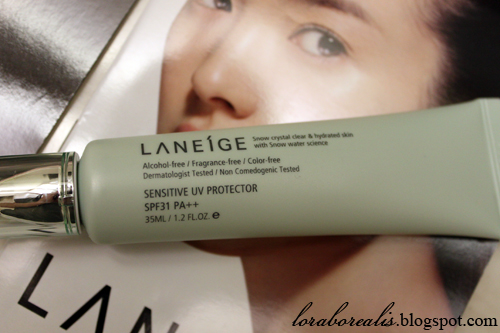 Laneige Sensitive UV Protector04