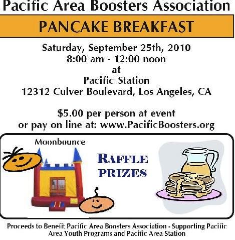 LAPD Pancake Breakfast